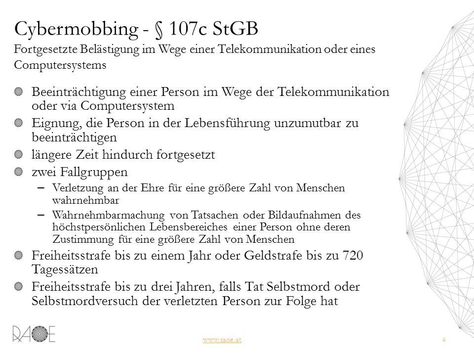 Facebookkommunikation als Beweismittel - 3 www.raoe.at35