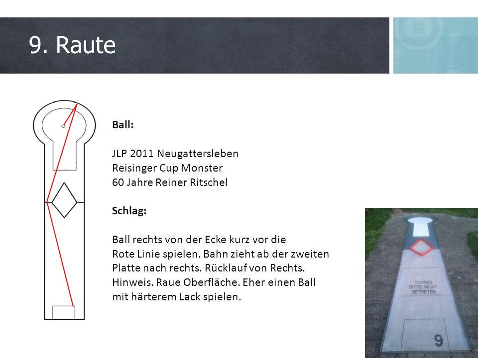 9. Raute Ball: JLP 2011 Neugattersleben Reisinger Cup Monster 60 Jahre Reiner Ritschel Schlag: Ball rechts von der Ecke kurz vor die Rote Linie spiele