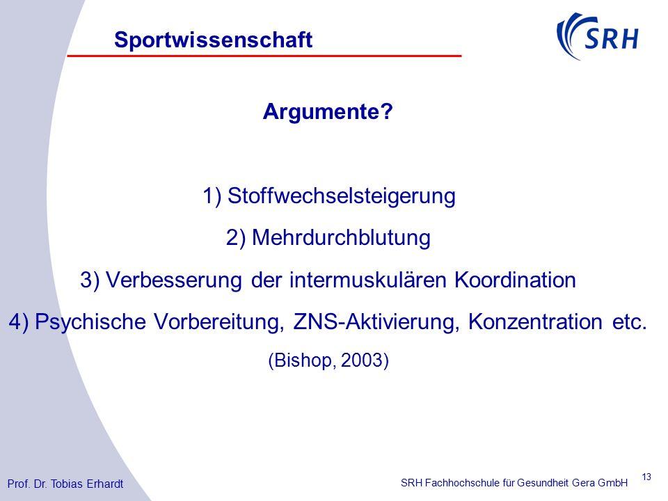 SRH Fachhochschule für Gesundheit Gera GmbH Argumente.