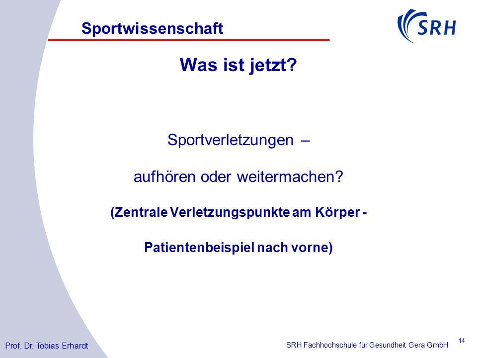 SRH Fachhochschule für Gesundheit Gera GmbH Was ist jetzt.
