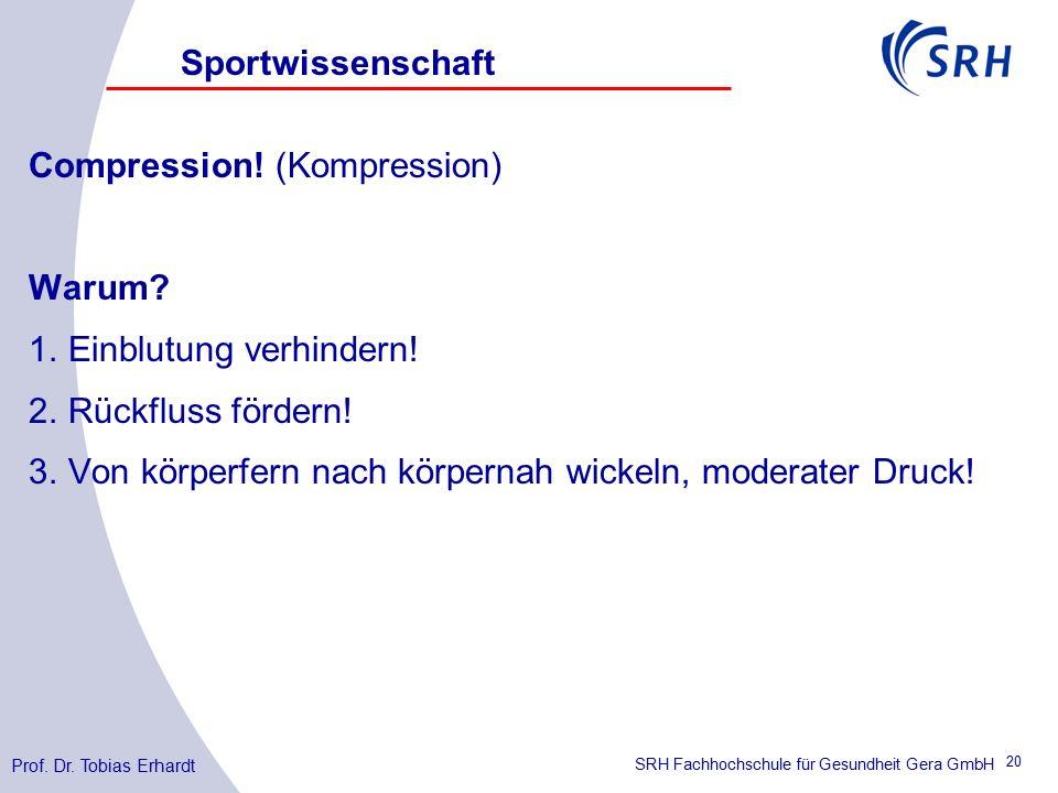 SRH Fachhochschule für Gesundheit Gera GmbH Compression.