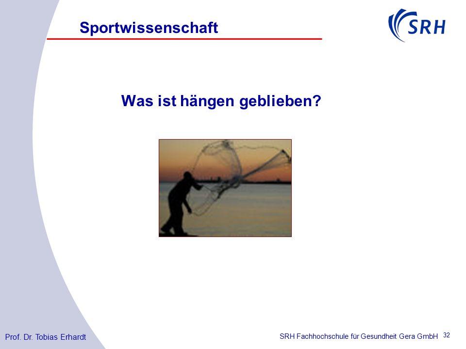 SRH Fachhochschule für Gesundheit Gera GmbH Was ist hängen geblieben.