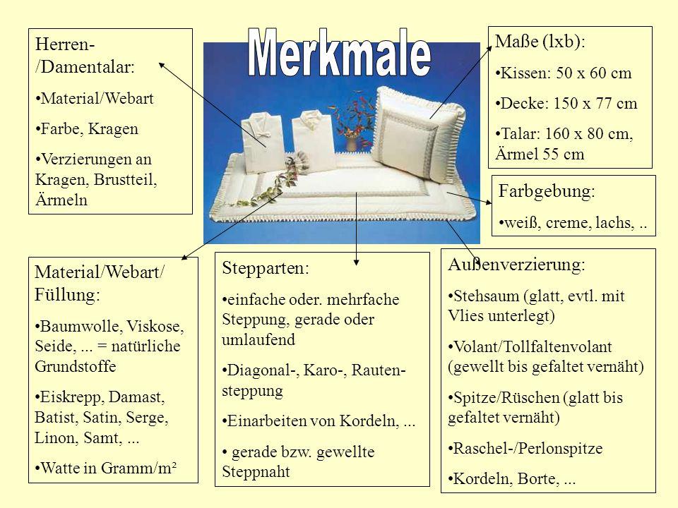Herren- /Damentalar: Material/Webart Farbe, Kragen Verzierungen an Kragen, Brustteil, Ärmeln Material/Webart/ Füllung: Baumwolle, Viskose, Seide,...