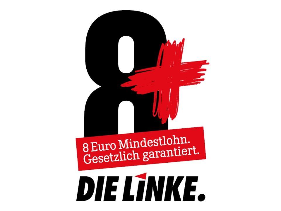 2 Dr.Matthias Hinze Büro Werner Dreibus, MdB I. Warum Mindestlohn.