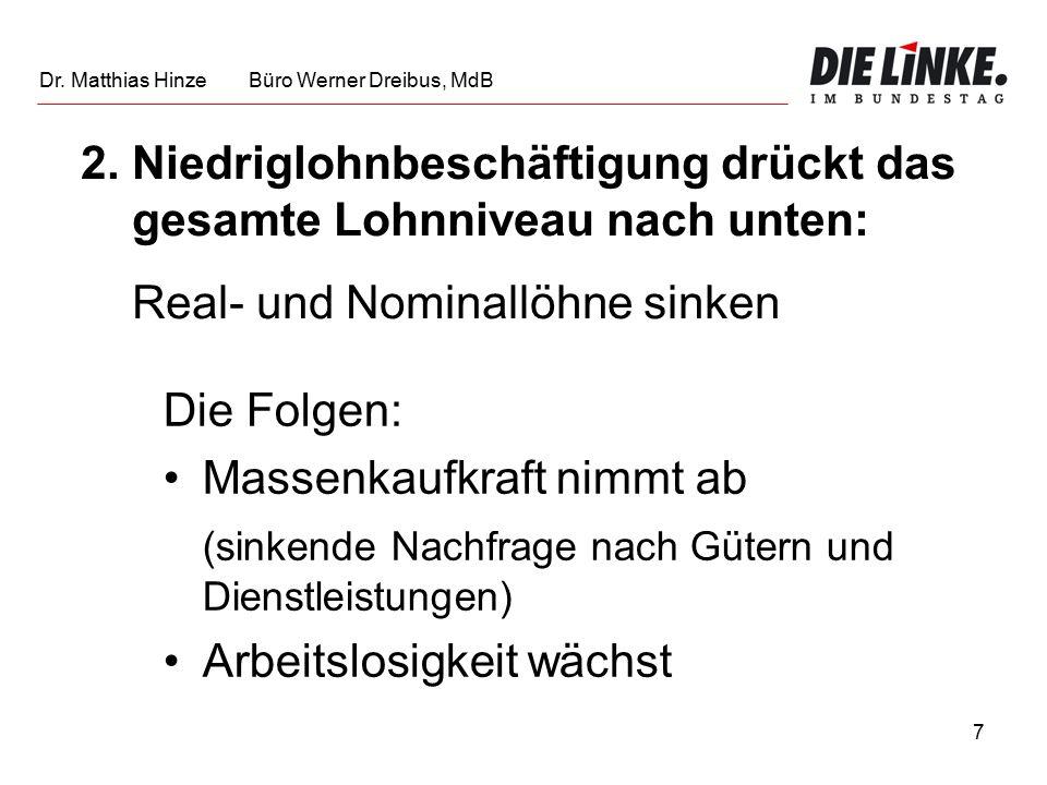 8 Quelle: WSI Dr. Matthias Hinze Büro Werner Dreibus, MdB