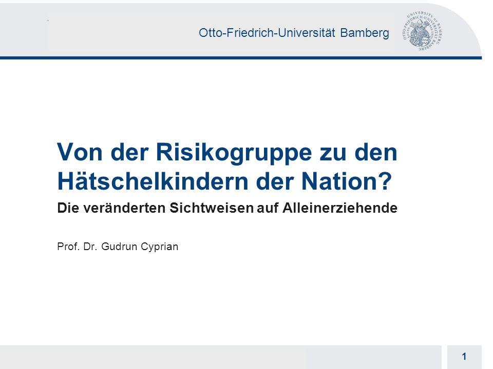 Otto-Friedrich-Universität Bamberg 1 1 Prof. Dr.