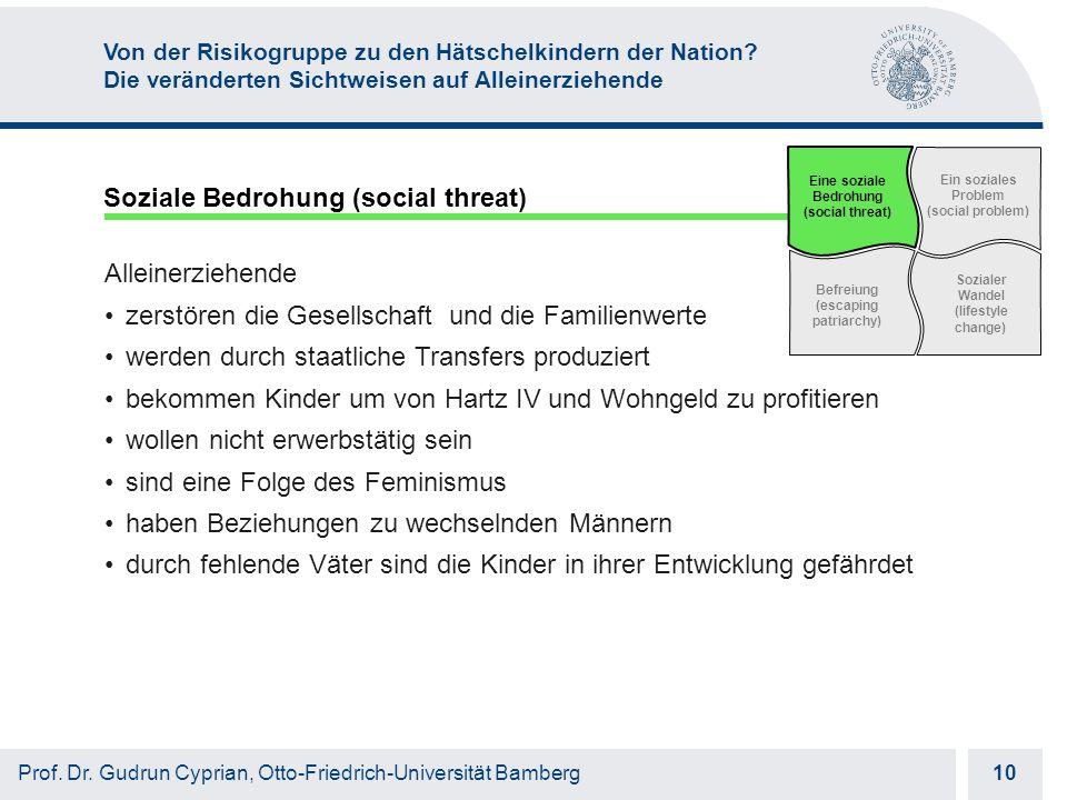 Otto-Friedrich-Universität Bamberg 10 Prof. Dr.