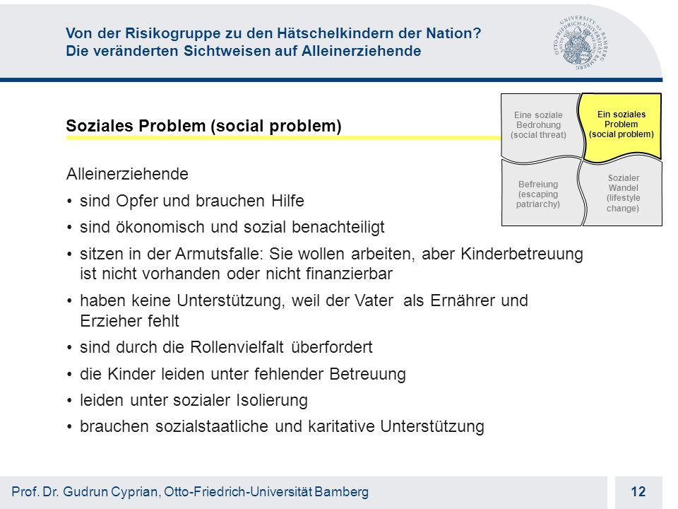 Otto-Friedrich-Universität Bamberg 12 Prof. Dr.