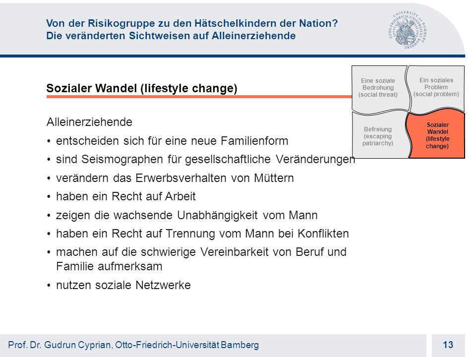 Otto-Friedrich-Universität Bamberg 13 Prof. Dr.