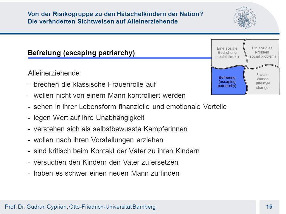 Otto-Friedrich-Universität Bamberg 16 Prof. Dr.