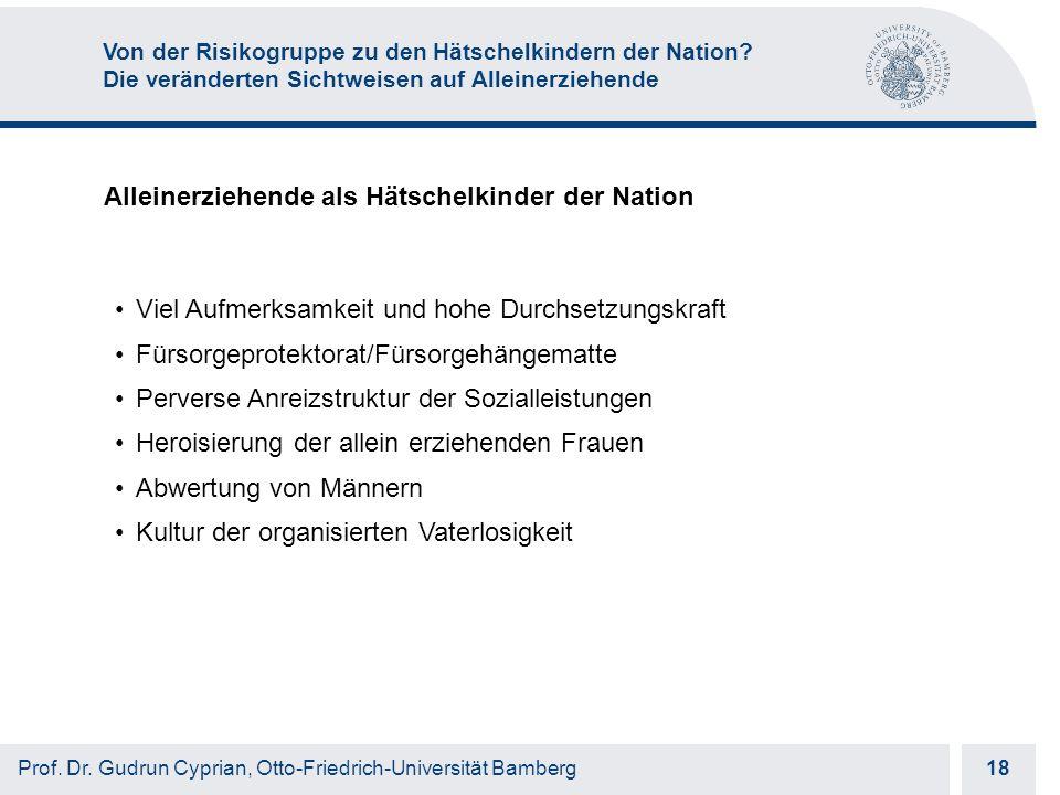 Otto-Friedrich-Universität Bamberg 18 Prof. Dr.