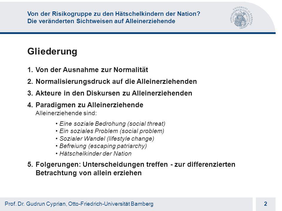 Otto-Friedrich-Universität Bamberg 13 Prof.Dr.