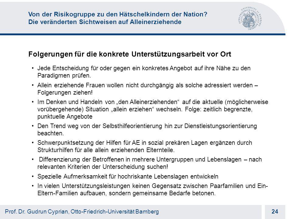 Otto-Friedrich-Universität Bamberg 24 Prof. Dr.