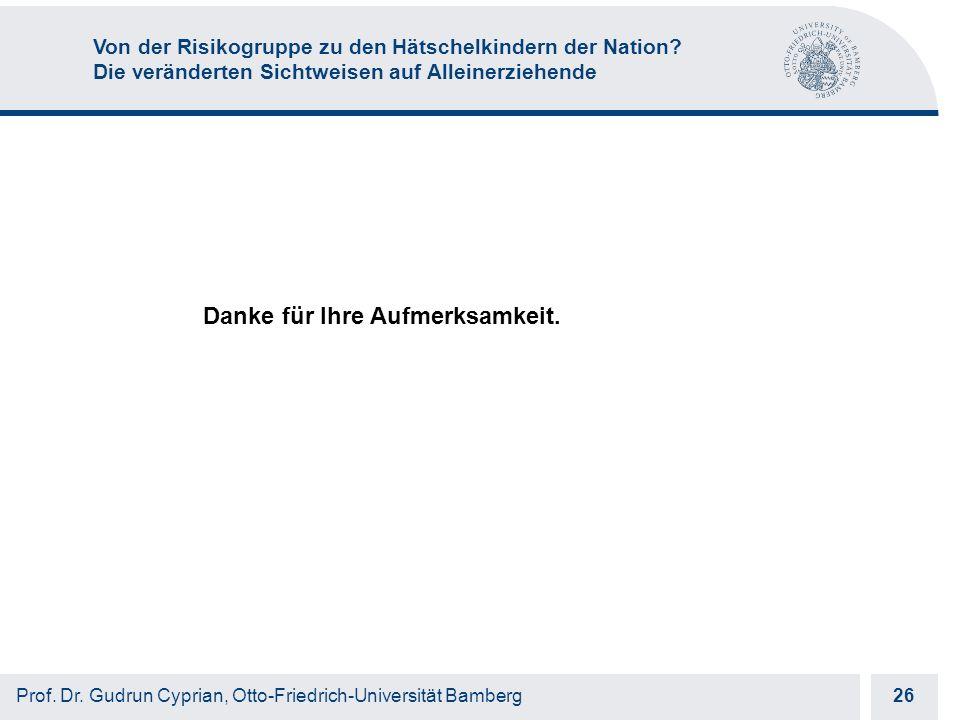 Otto-Friedrich-Universität Bamberg 26 Prof. Dr.