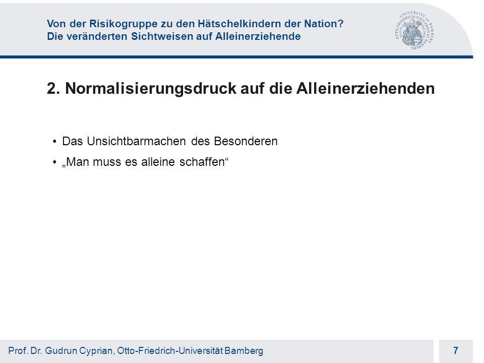 Otto-Friedrich-Universität Bamberg 18 Prof.Dr.