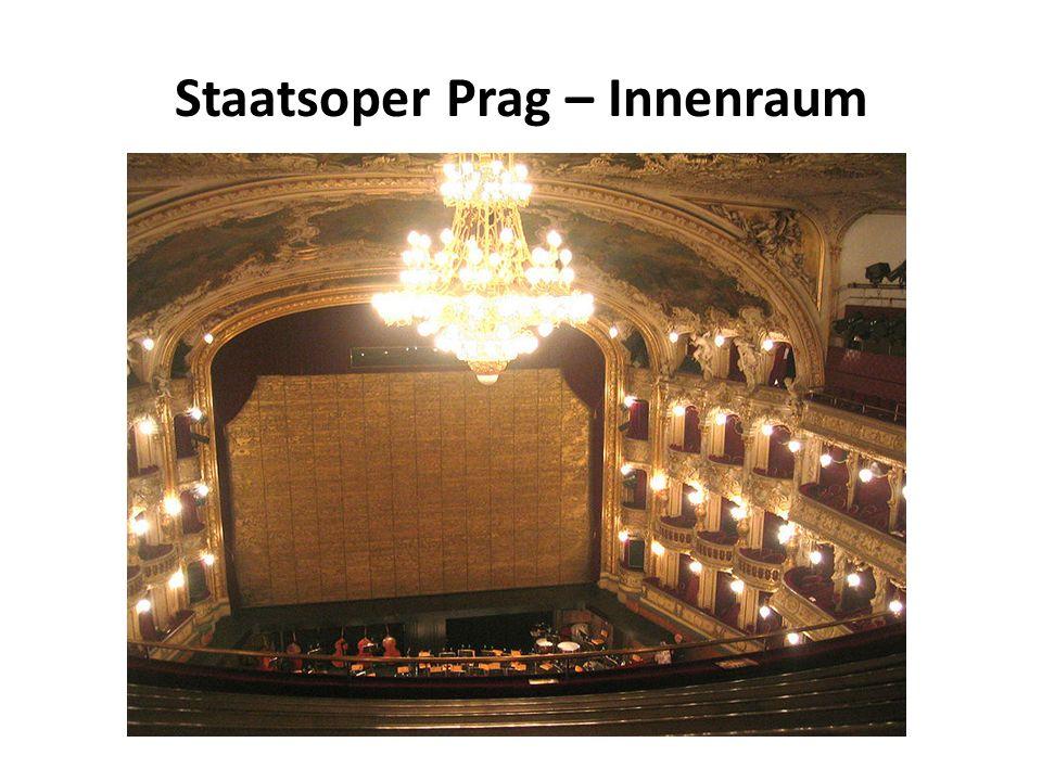 Staatsoper Prag – Innenraum