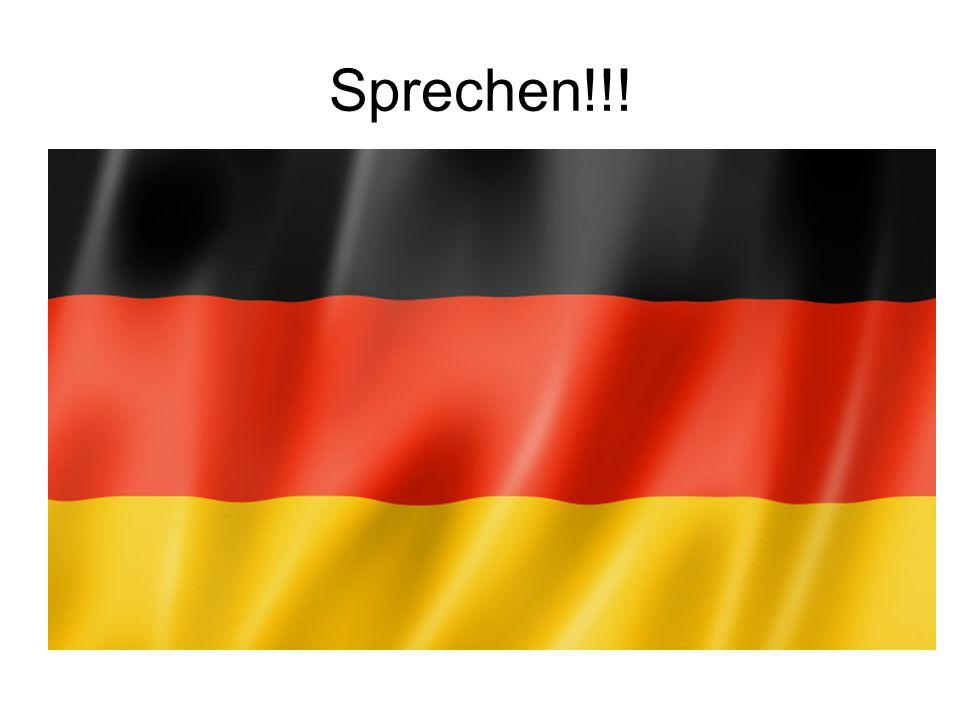 Sprechen!!!