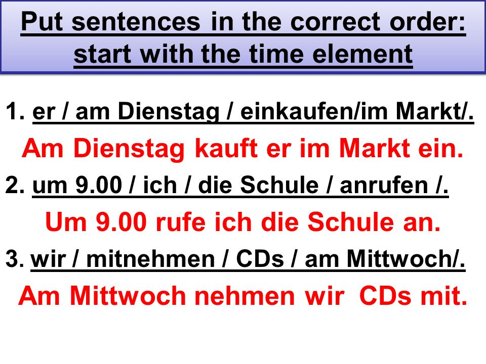 Modal Verbs & Separable Prefix Verbs Conjugate Modal Verb & Sep.PrefixVerb at End The Modal Verb & The SPVerb (in second place and conjugated) (has en ending is at the end of the sentence) Mögen & anrufen: Ich mag Matthias anrufen.