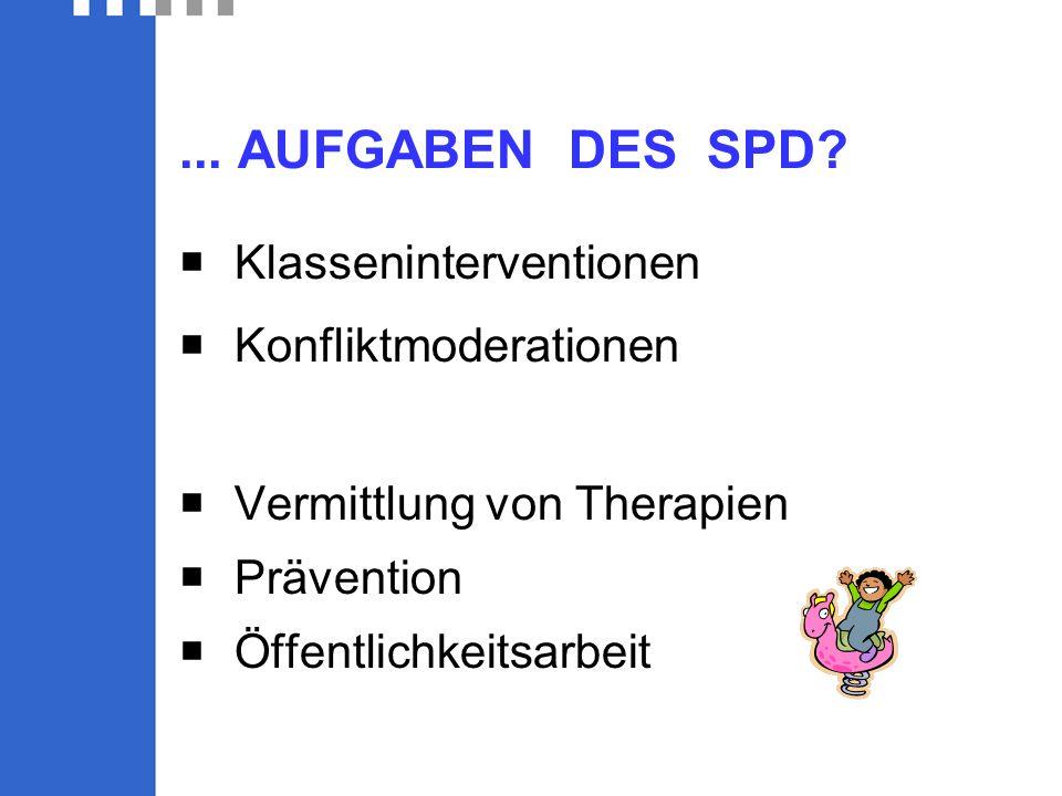 ... AUFGABEN DES SPD.