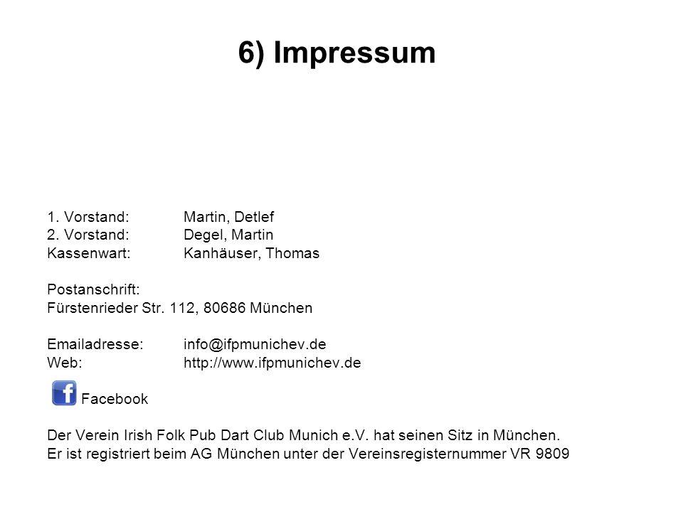 1. Vorstand:Martin, Detlef 2.