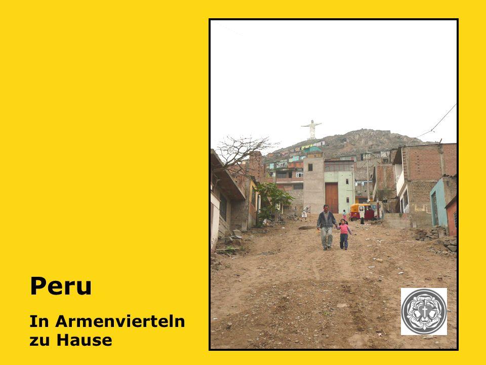 Peru In Armenvierteln zu Hause