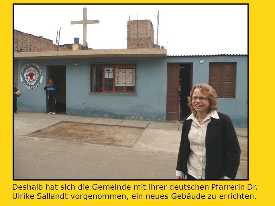 Deshalb hat sich die Gemeinde mit ihrer deutschen Pfarrerin Dr.