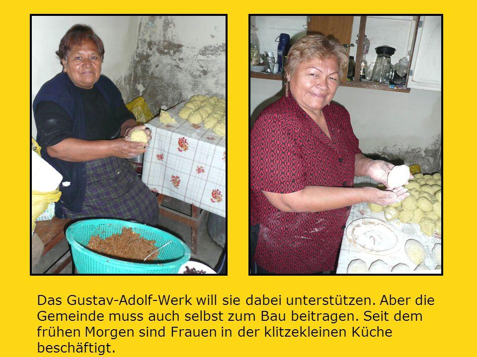 Das Gustav-Adolf-Werk will sie dabei unterstützen.