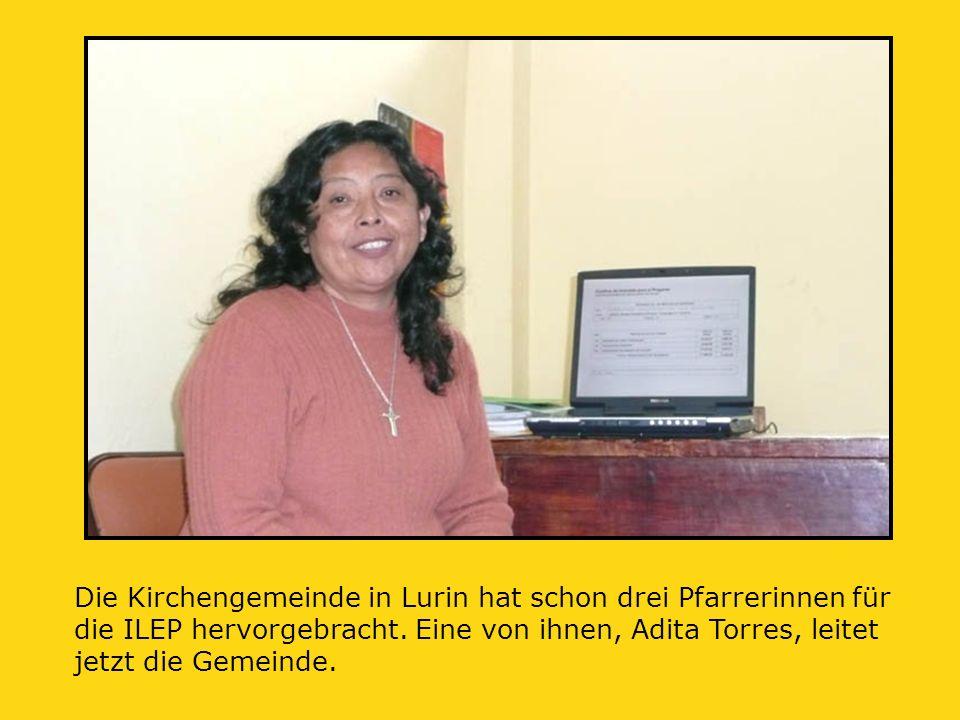 Die Kirchengemeinde in Lurin hat schon drei Pfarrerinnen für die ILEP hervorgebracht.