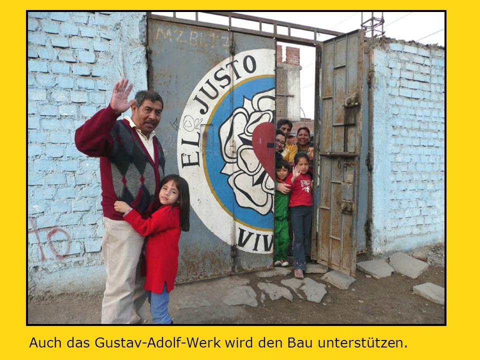Auch das Gustav-Adolf-Werk wird den Bau unterstützen.