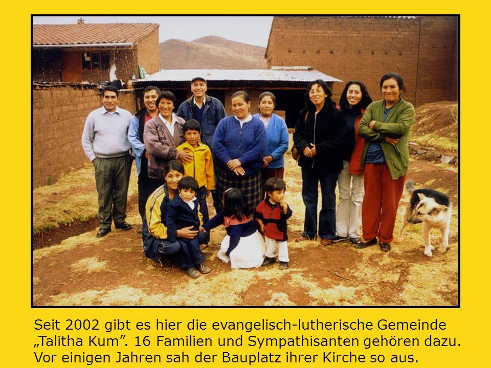 """Seit 2002 gibt es hier die evangelisch-lutherische Gemeinde """"Talitha Kum ."""