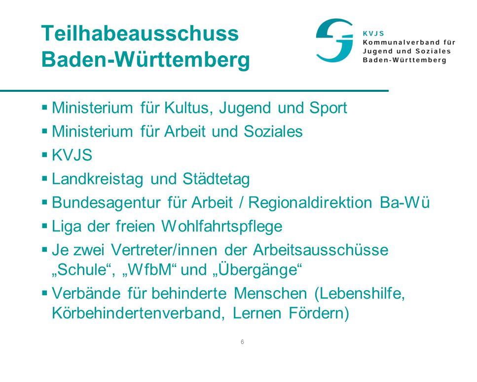 27 Integrationsprojekte in Baden-Württemberg 1.432 Arbeitsplätze davon 823 Arbeitsplätze mit schwerbehinderten Menschen besetzt Auch sie leisten einen wesentlichen Beitrag innerhalb der Aktion 1000 (ca.