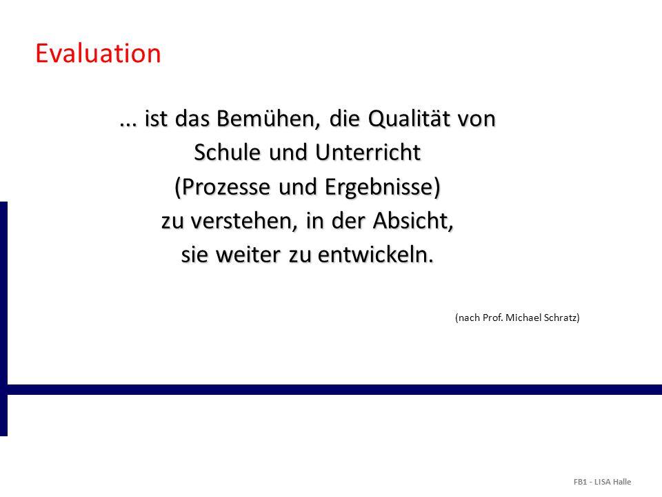 Evaluation...