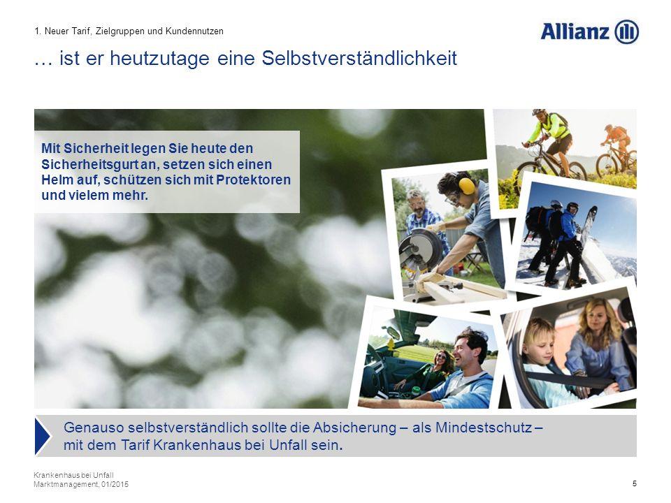 26 Ergebnis 5. Verkaufsprozess Krankenhaus bei Unfall Marktmanagement, 01/2015