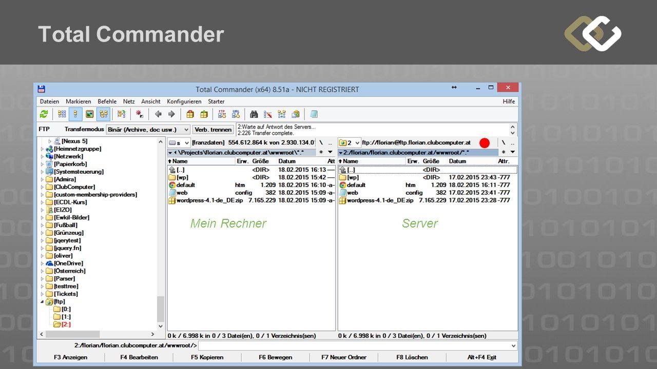 Total Commander Mein RechnerServer