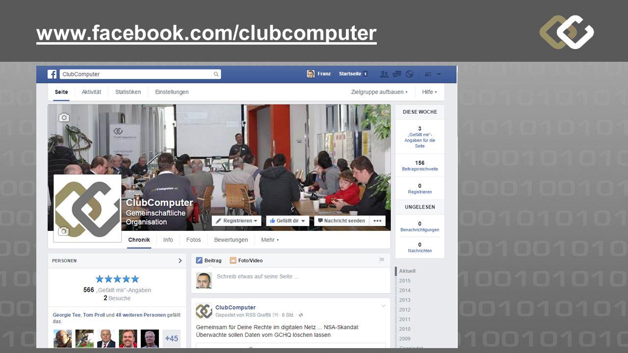 www.facebook.com/clubcomputer