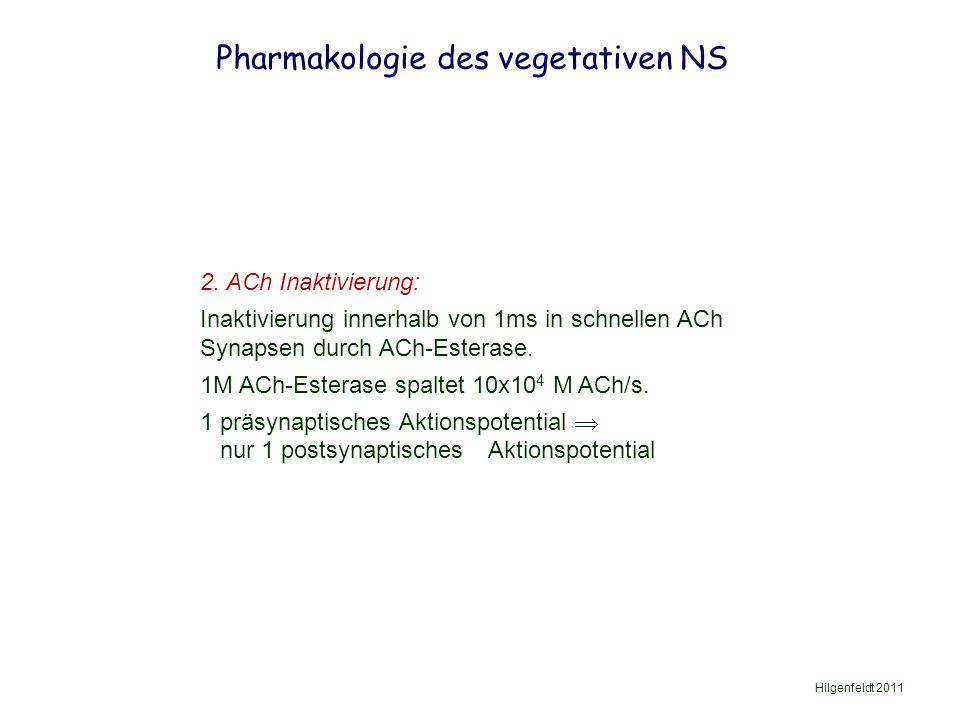 Pharmakologie des vegetativen NS Hilgenfeldt 2011 2.