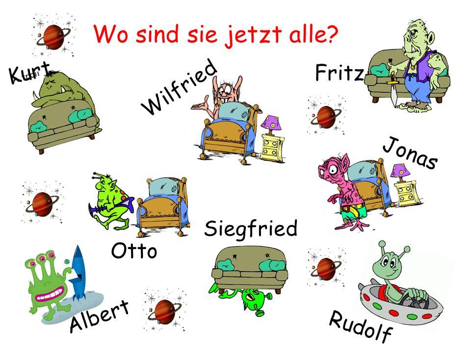 Wo sind sie jetzt alle Rudolf Fritz Kurt Wilfried Otto Albert Jonas Siegfried