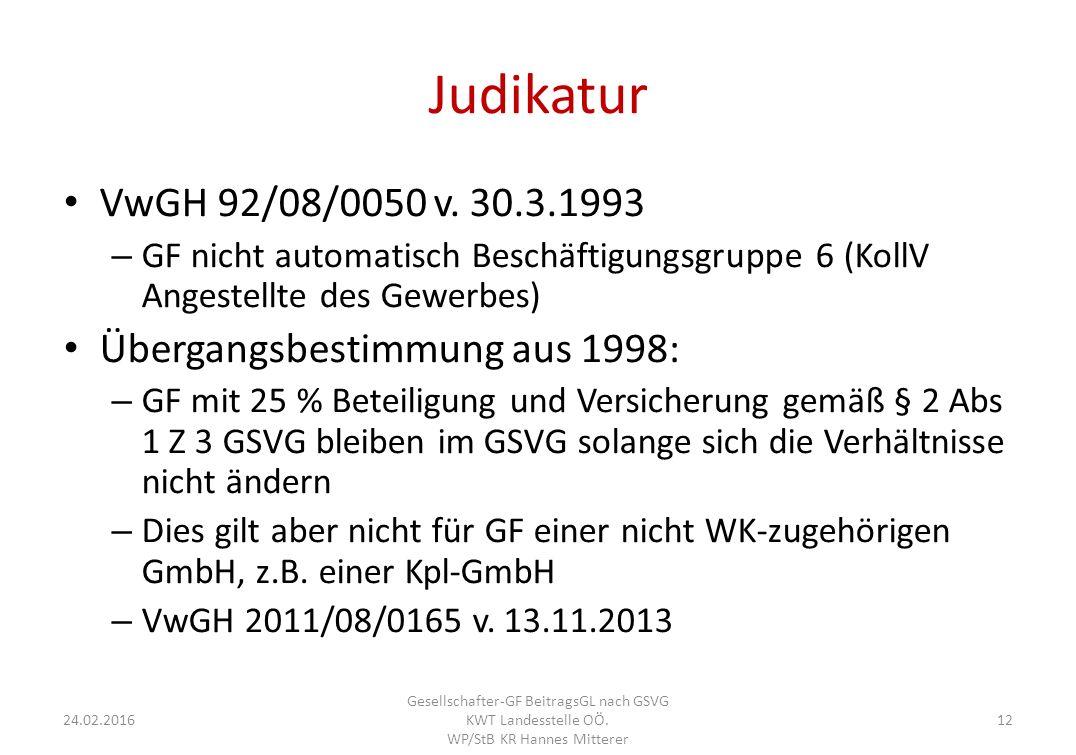 Judikatur VwGH 92/08/0050 v.