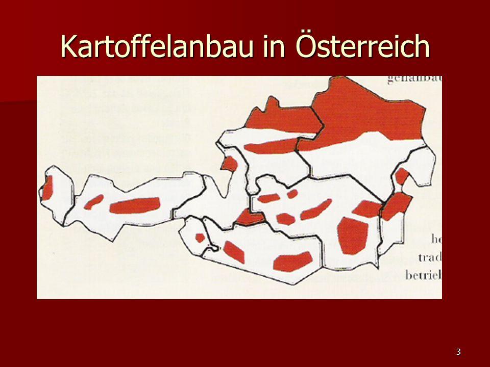 3 Kartoffelanbau in Österreich