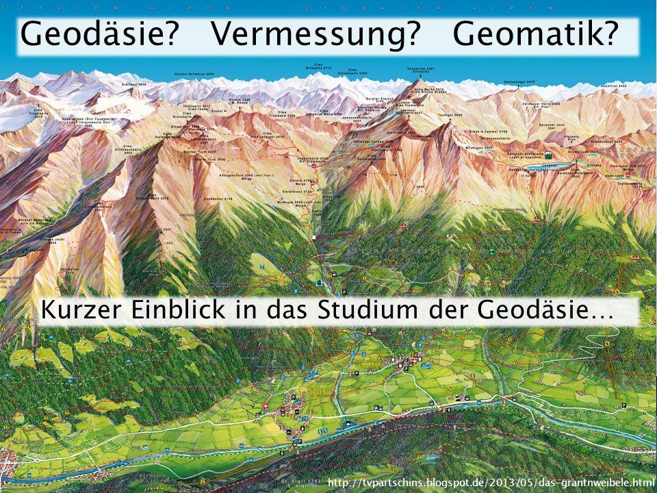 Geodäsie.Vermessung. Geomatik.