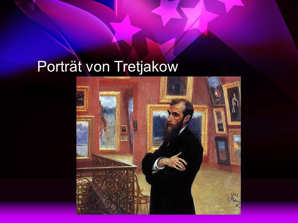 Porträt von Tretjakow