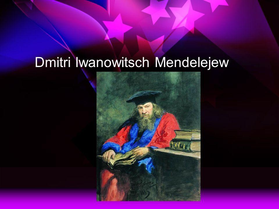 Dmitri Iwanowitsch Mendelejew
