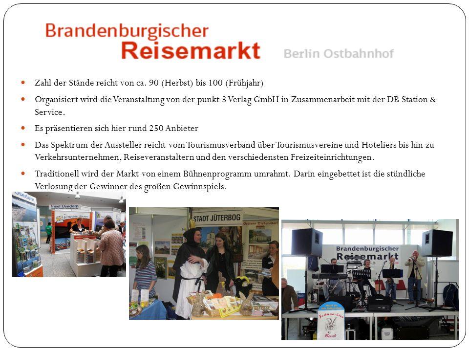 37.Brandenburgischer Reisemarkt 28. März 2015 10-17 Uhr Berliner Ostbahnhof Eintritt frei.