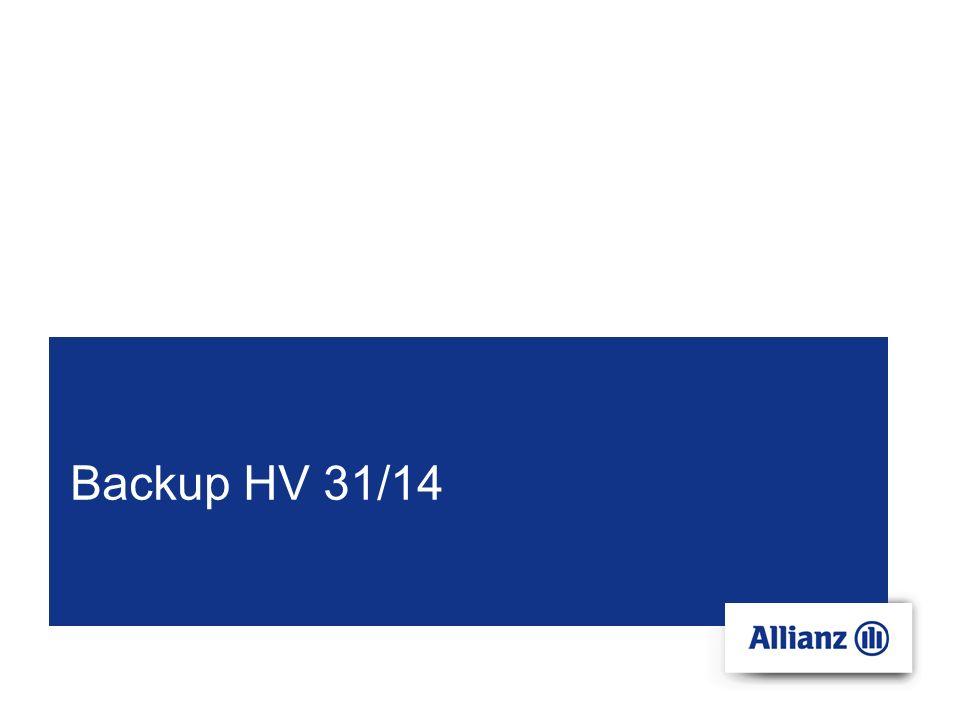 Filename 6 © Copyright Allianz; S-FH/VH-VHB Alle Neuerungen der HV 31/14 im Detail § 1 Ziffer 1.1Gesellschaft als VN (redaktionelle Klarstellung) Integration der Mitversicherung der Gesellschaft bürgerlichen Rechts und der Partnerschaftsgesellschaft (bislang HV 4228), sowie der LLP - jeweils gegen Bezeichnung im Versicherungsschein Integration der Embargoklausel Entfall des unsystematischen BGB-Zitats bei Erfüllungssurrogaten § 1 Ziffer 2, 3natürliche Personen in gemeinschaftlicher Berufsausübung (redaktionelle Klarstellung) Klarstellende Neufassung der Zurechnungsnorm: Bei jur.