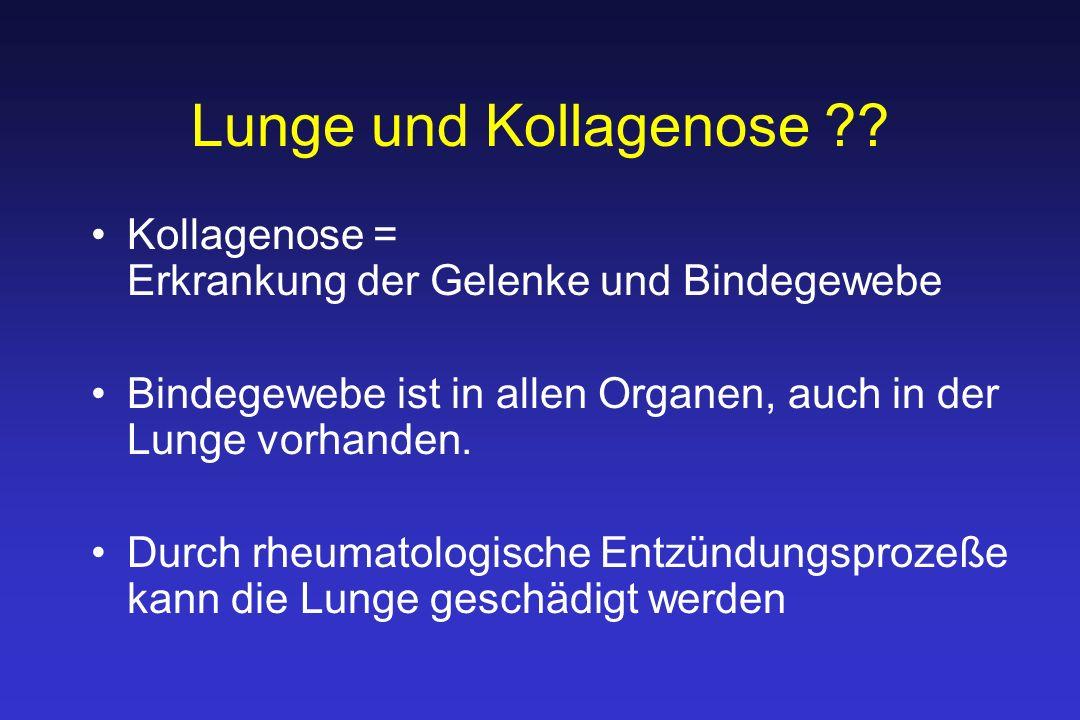 Lunge und Kollagenose .