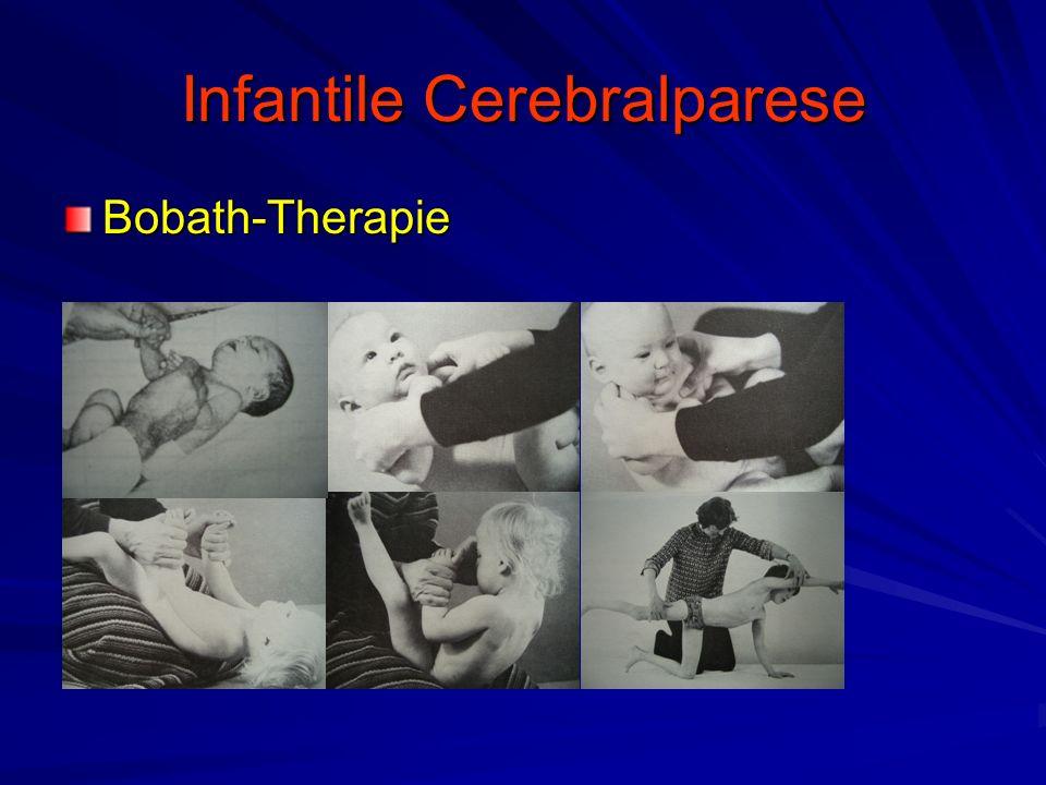Infantile Cerebralparese Bobath-Therapie