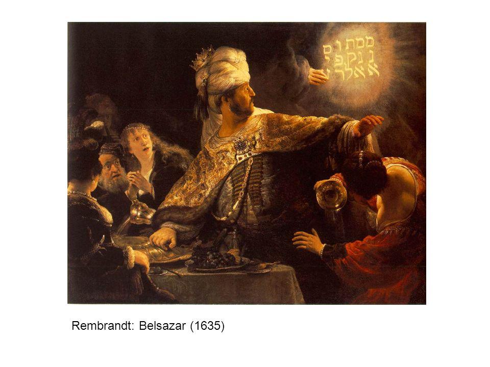 Rembrandt: Belsazar (1635)