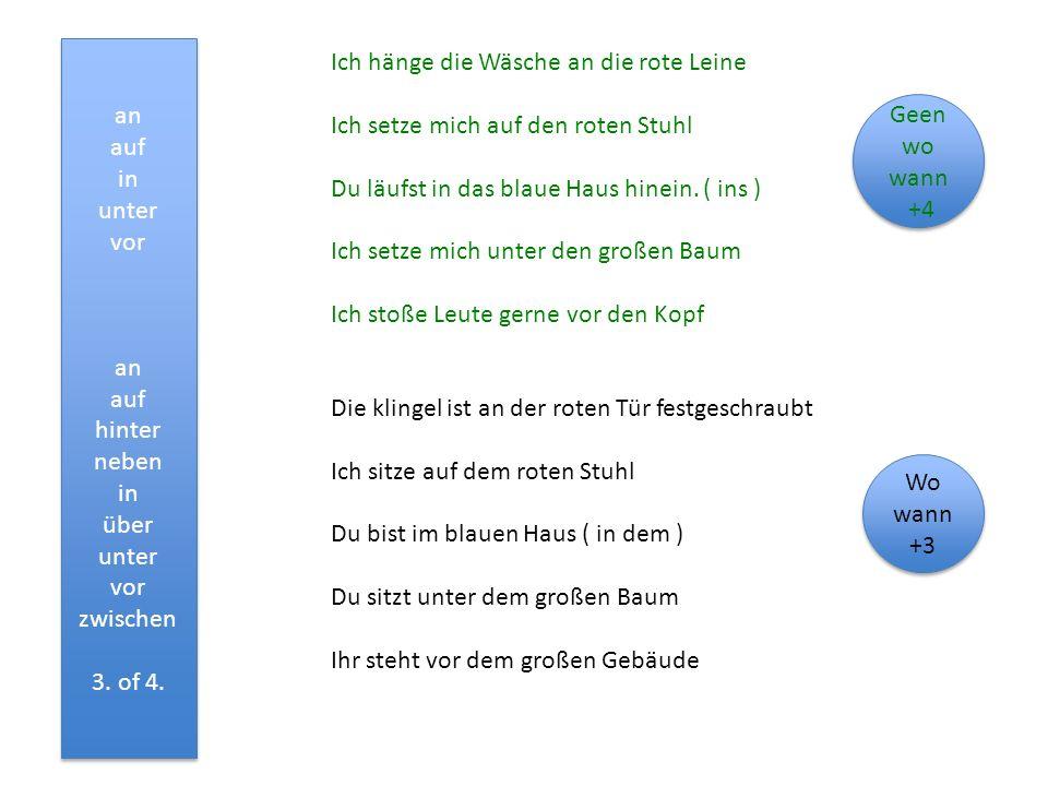 Naamvallenvolgorde in boek en bij mijn voorbeelden: 1 4Voorz +4 (3/4) hij-hem regel 3 voorz +3 (3/4) aan hem regel Klas 3