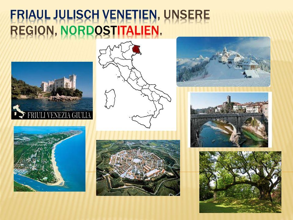 Im Norden sind die Alpen… Das ist Tarvisio – Luschariberg
