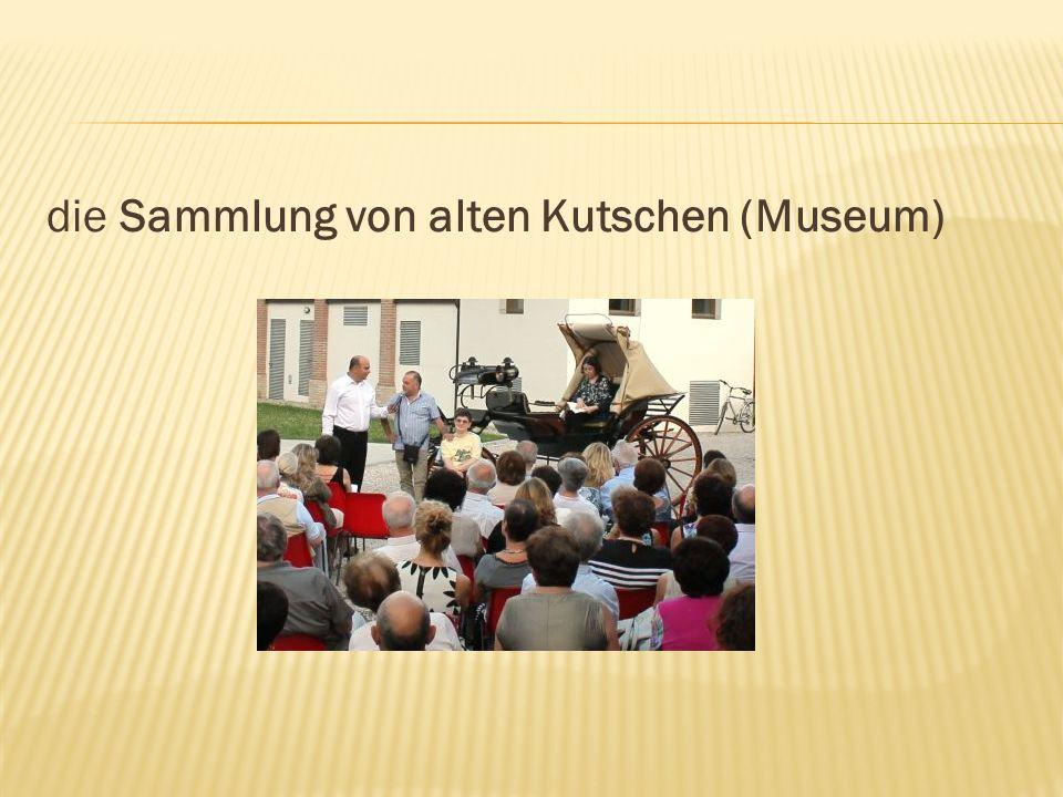 die Sammlung von alten Kutschen (Museum)